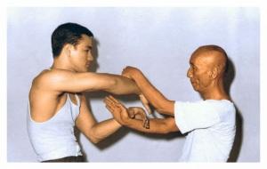 Bruce Lee e Yip Man